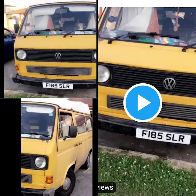 Nigerian Lady Cries Out After Seeing Lagos Danfo In England. VIDEO