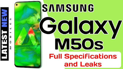 Samsung Galaxy M50s Specification