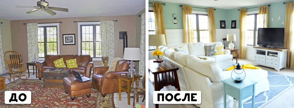 20 rooms before and after it took the designer