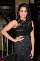Wamiqa Gabbi in a sleeveless Black Designer Transparent Gown at 64th Jio Filmfare Awards South ~  Exclusive 035.JPG