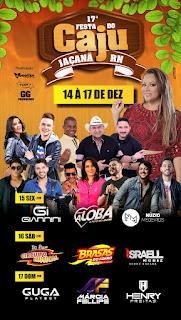Circuito Musical, Márcia Fellipe são algumas das atrações da Festa do Caju em Jaçanã; veja