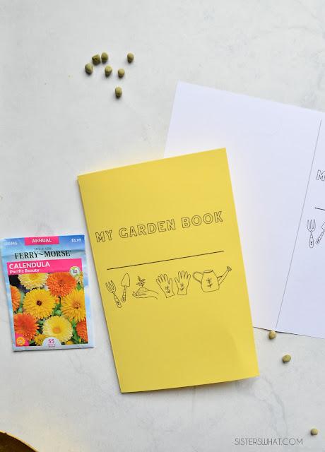 printable garden book for kids