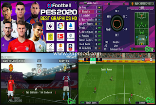 Download PES 2020 PPSSPP Chelito Lite | 400Mb Gilagame