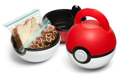 Pokeball Lunch Case
