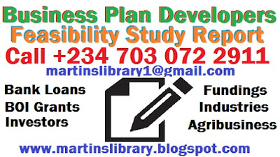 GET BUSINESS PLAN AND FEASIBILITY STUDY REPORT