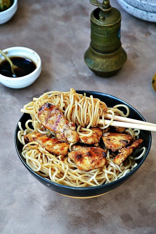 Grillowany kurczak z sosem teriyaki