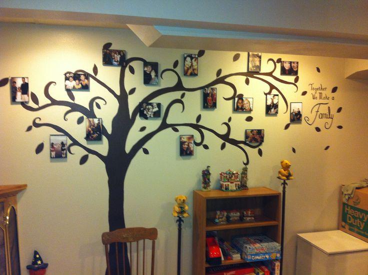 Rboles familiares para pared for Como obtiene su alimento un arbol