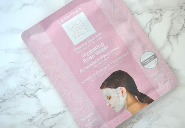 Dermovia Lace Your Face Hydrating Rose Mask Review