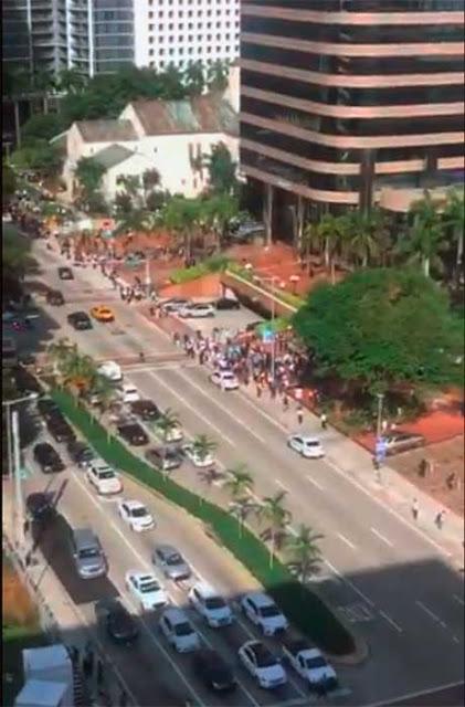 video Imágenes terremoto 7,7 en el mar del Caribe sentido en Cuba y Jamaica