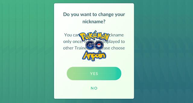 Cara Mengganti Nickname Pokemon Go Tanpa Mengirim Permintaan, Cara Mengganti Nickname Pokemon GO Terbaru Work, Cara Mudah Mengganti Nickname Pokemon GO, Cara Merubah Nama Akun Pokemon GO.