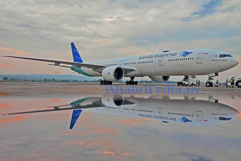 Gagah tapi Boros, Ulasan Boeing B 777-300 ER Garuda ...