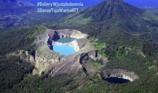 Danau Tiga Warna Kelimutu | Wisata Nusa Tenggara Timur, Papua