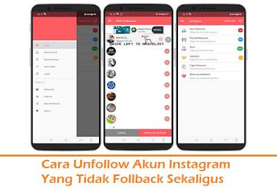Cara Unfollow Akun Instagram Yang Tidak Follback (Termudah.com)