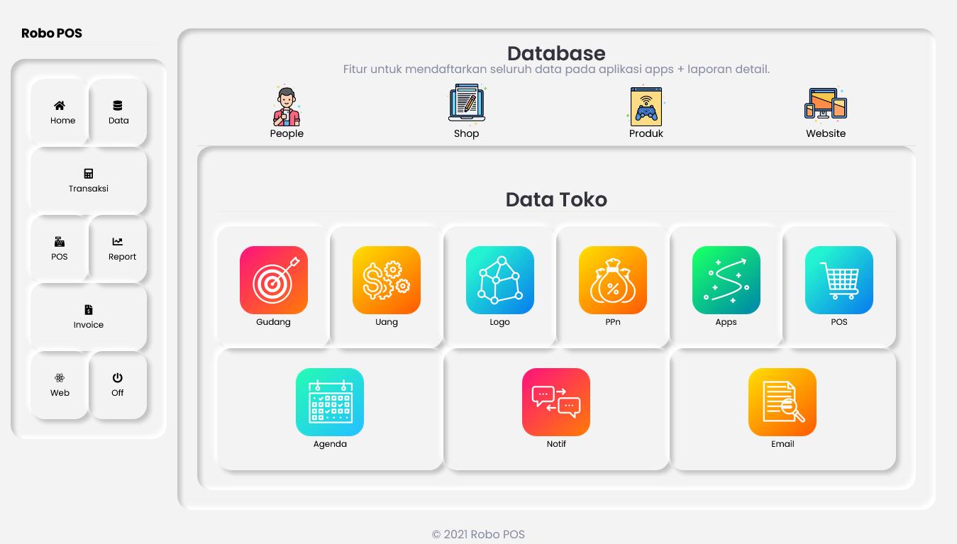 aplikasi toko onlien shop web app terbaru