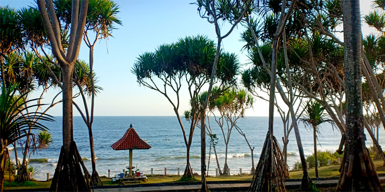 Pantai Batuhiu Pangandaran Jawa Barat