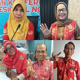 Inilah Wajah-Wajah Calon Pengurus Wilayah INI Jambi Periode 2019-2022.