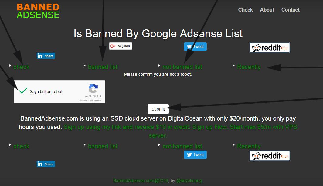 cara cek status domain situs website