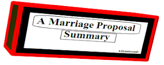 A marriage proposal summary