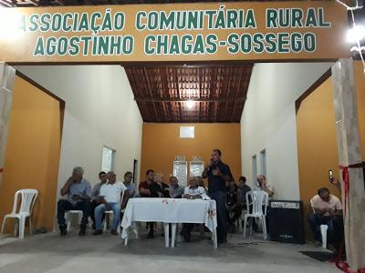 Moradores do Sítio Sossego ganham sede da Associação Comunitária