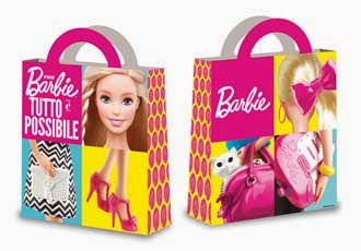 borsa regali barbie
