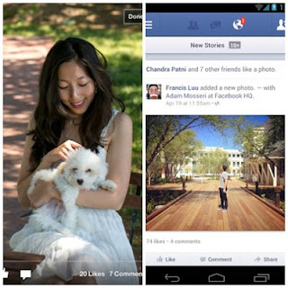 Facebook Mobile Application for mobile
