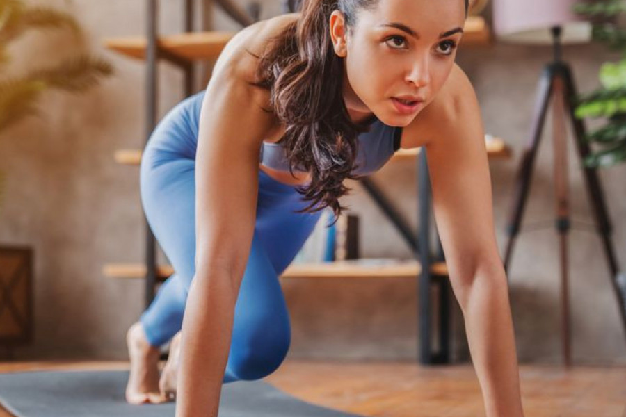 Tighten your body with just 15 minutes