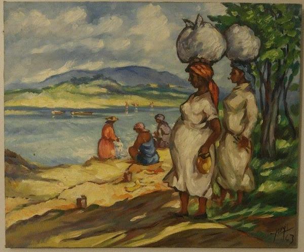 Lavanderas, Yoryi Morel, 1963