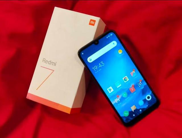 Spesifikasi dan Harga Smartphone Redmi 7 Terbaru