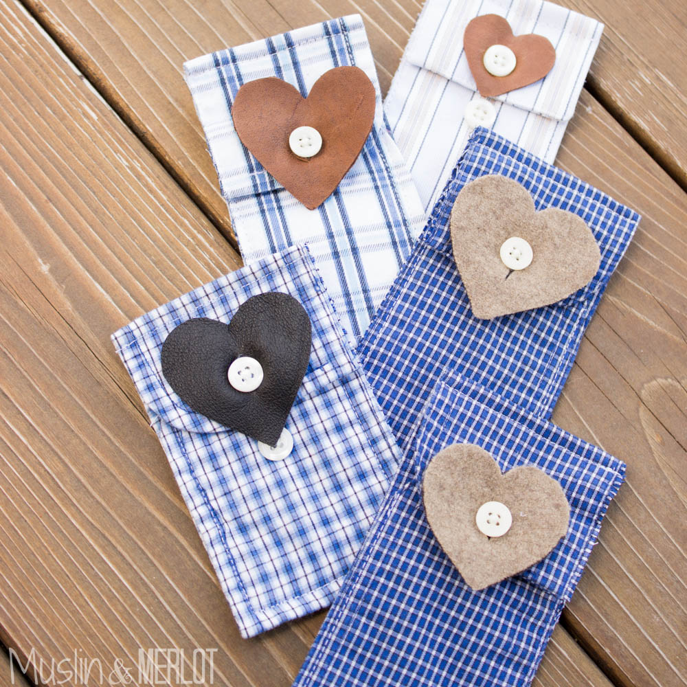 Shirt Cuff Gift Card Holder