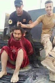 Isis terrorists captured