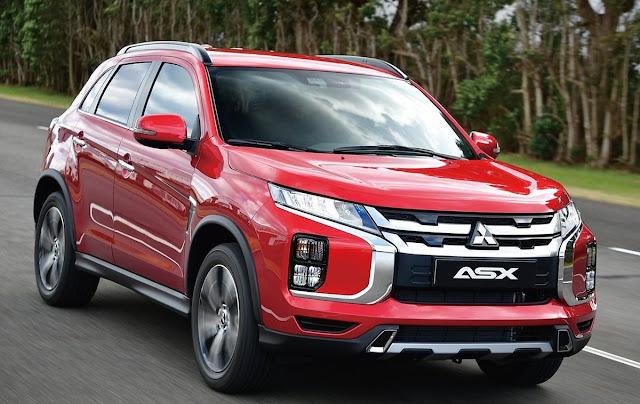 Tampilan Luar Mitsubishi ASX 2020 Berdesain Robust Dan Ingenious