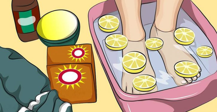 The Lemon Foot Bath That Helps You Detoxify Your Whole Body