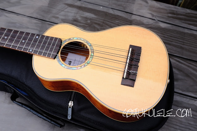Noah 8 string concert ukulele body