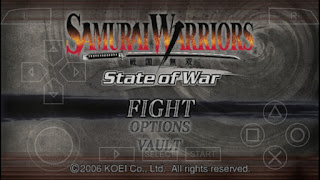 Game Samurai Warriors State of War PPSSPP