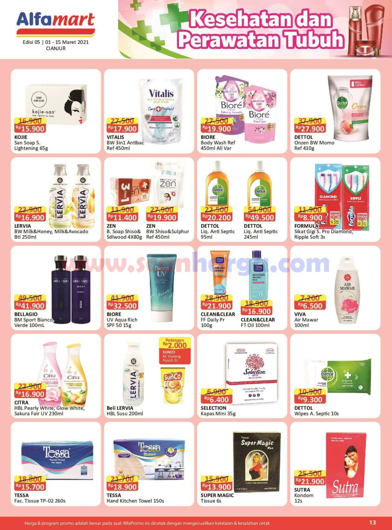 Katalog Promo Alfamart 1 - 15 Maret 2021 13
