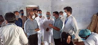 madhubani-dm-visit-vaccine-center