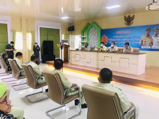 Abdul Hayat Gani Buka Raker PD Pemuda Panca Marga Sulawesi Selatan