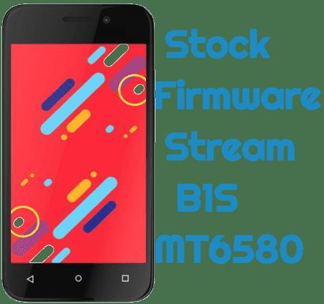 تفليش وتحديث جهاز  Stock Firmware  Stream B1S System MT6580
