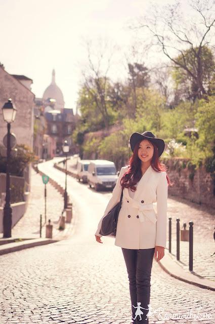 Honeymoon, cafe, Paris, review, ฝรั่งเศส, รีวิว, ฮันนีมูน, สวีท,ปารีส, montmartre, มงมาร์ต, sacre couer, KB cafeshop,maison georges larnicol