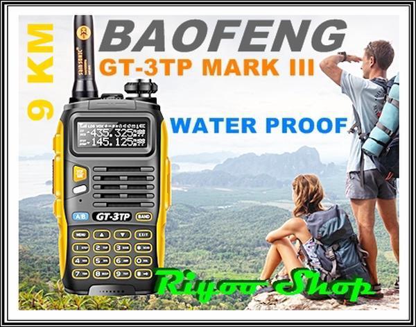 Handy Talky Baofeng GT3-TP Mark III 8Watt - Review