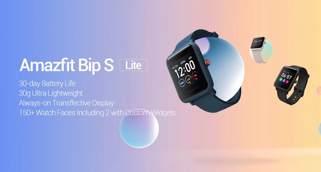 Amazfit Bip S Lite Launched with 1.28inch Colour Touch Display, 30 Days Battery Life For Rs. 3,799/- & More