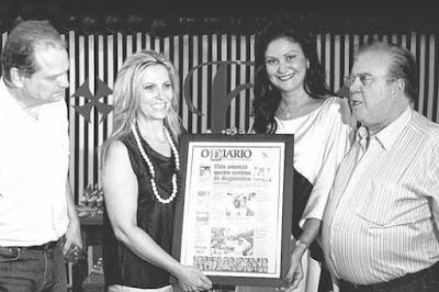 Ricardo Barros, Cida Borghetti, Patrícia e Frank Silva. Café com Jornalista