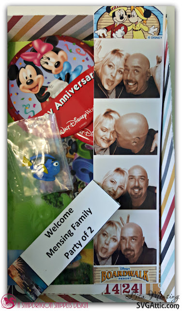 Walt Disney World Memory Book created by In The Crafting Cave with Lisa