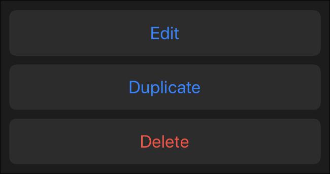 تحرير أو تكرار أو حذف Memoji الموجودة