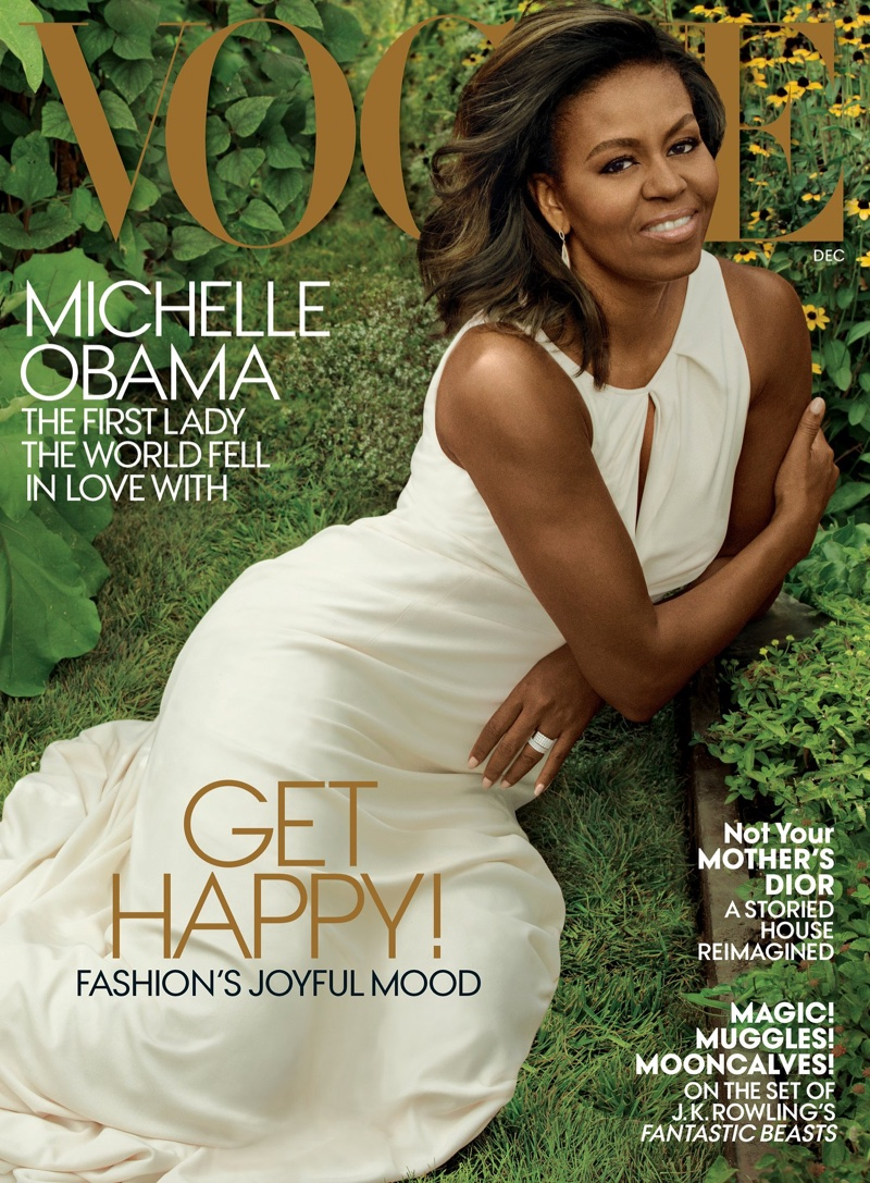 Michelle Obama on Vogue December 2016 Cover