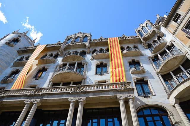 Grand Luxe Hotel Casa Fuster on Passeig de Gracia 132 - Front Façade