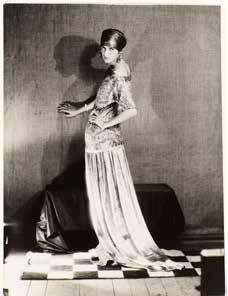 Peggy Guggenheim dans une robe de Poiret
