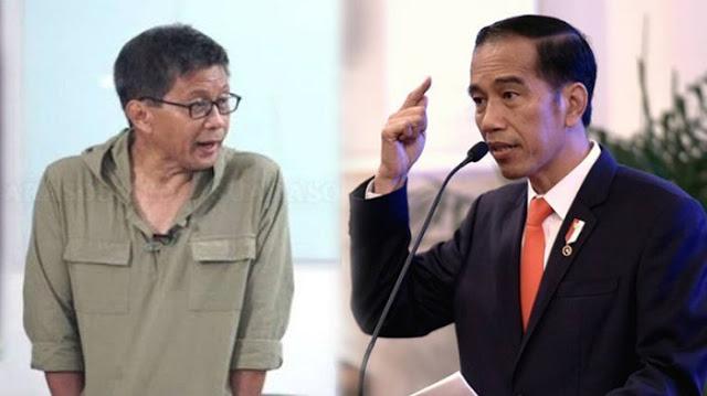 Sebut Jokowi Tak Paham Makna 'Lockdown' Sebenarnya, Rocky Gerung: Otak Dia Malfunction!