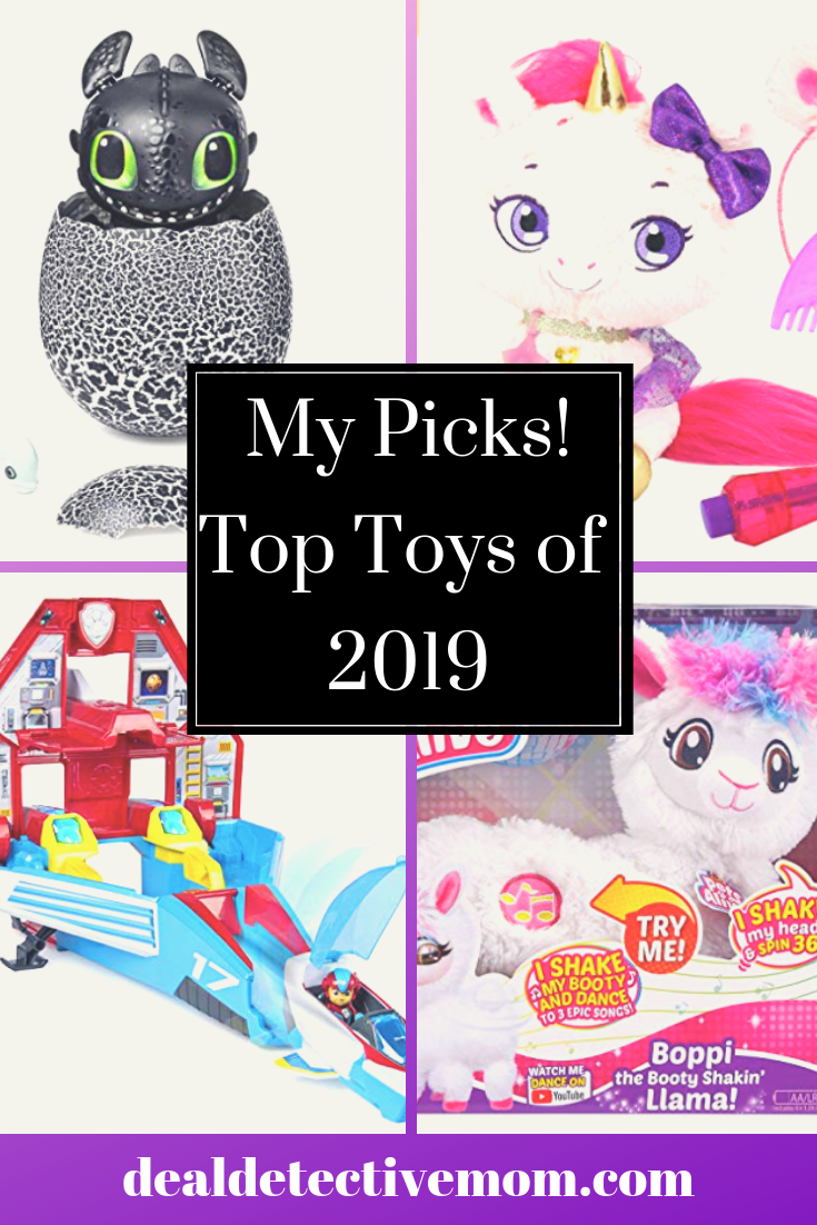 Predictions for the hot toys of 2019. Knowing what's predicted to be popular is, in my opinion, incredibly valuable information if you want to avoid the craziness that often hits in November. I don't recommend anyone rush out and buy everything on the list but if there's something you KNOW your kid can't live without it would behoove you to grab it early before the insanity ensues.