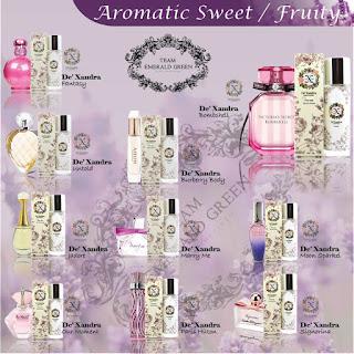 Rahsia Perfume - Buah-buahan,Dexandra,Perfume